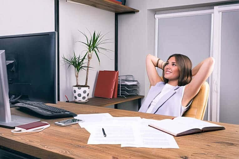 Positive at work can increase work productivity