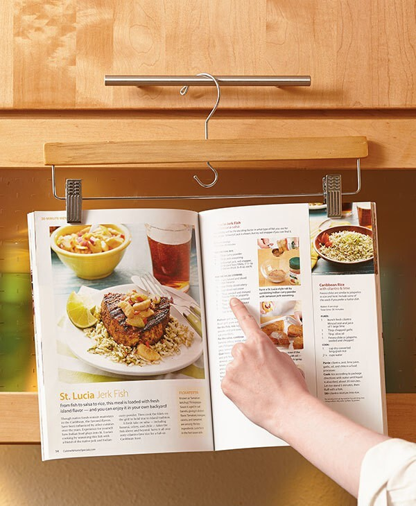 Kitchen Cookbook Hanger