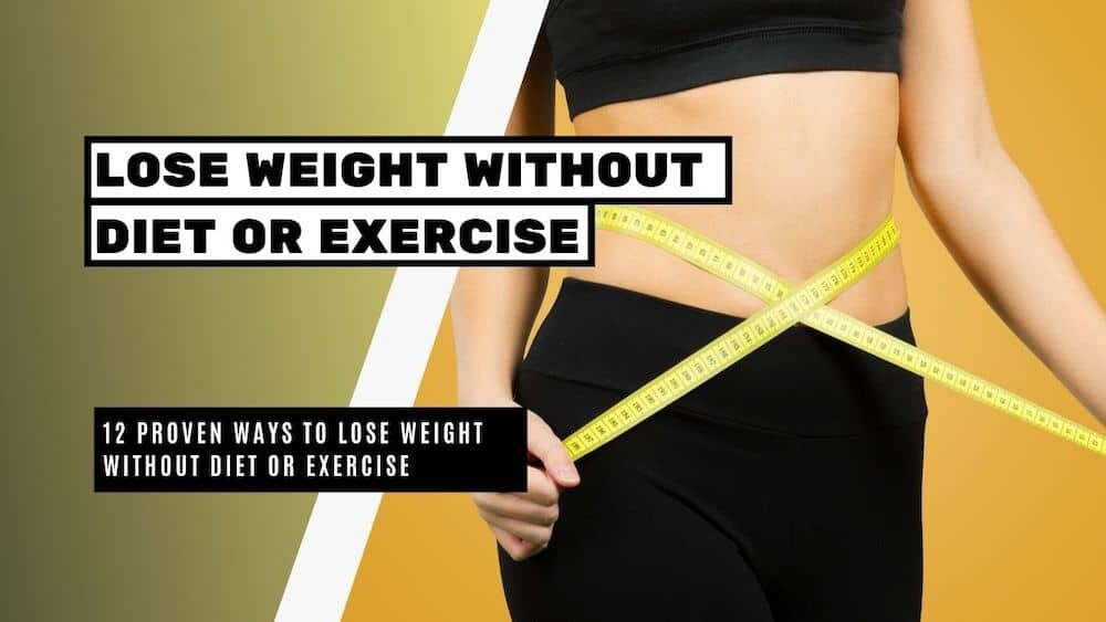 Our Is It Possible To Lose Weight Without Exercising? (For Teens ... PDFs