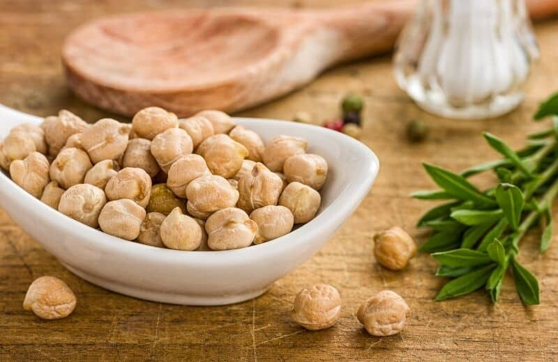 Bodybuilding Food - Chickpeas
