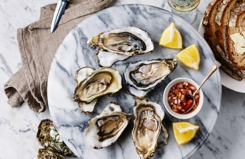 Bodybuilding Food - Oysters