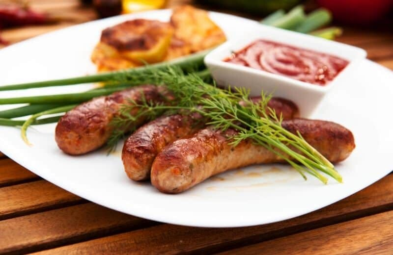 Food to Avoid when Bodybuilding - Processed sausage
