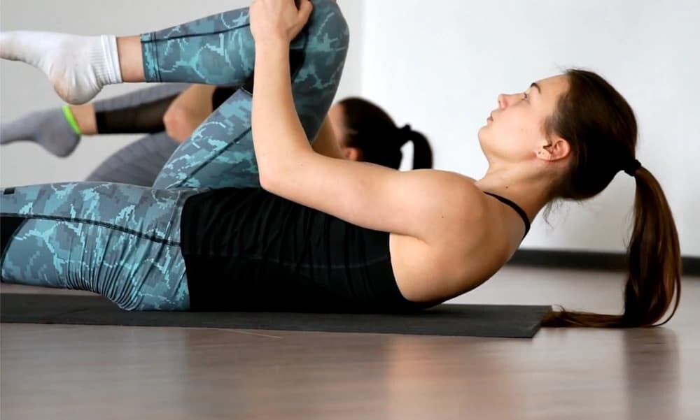 Knee to Chest exercise