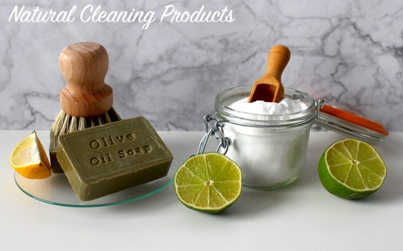 Natural Cleaning Products with No Harsh Chemicals