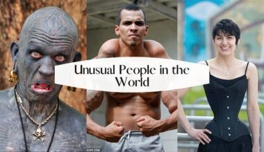 List of Unusual People in the World