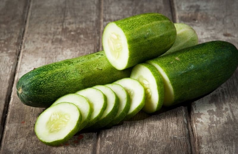 Foods for Glowing Skin-Cucumber