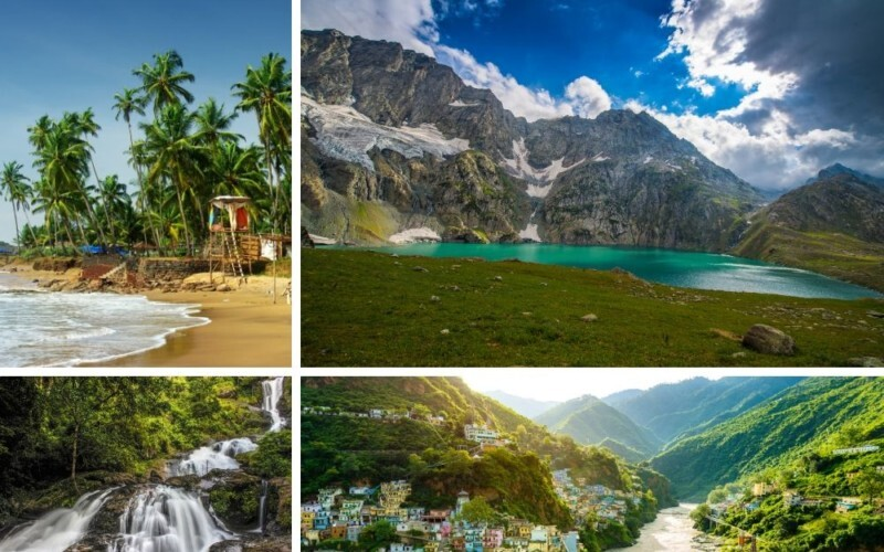 Top 15 Amazing Places to Visit in India