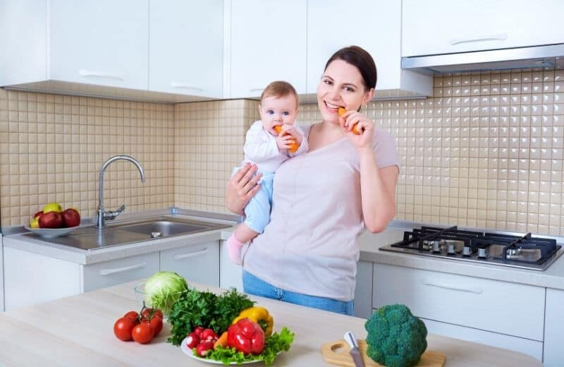 Weight Gaining Food Lists For Mother and Babies