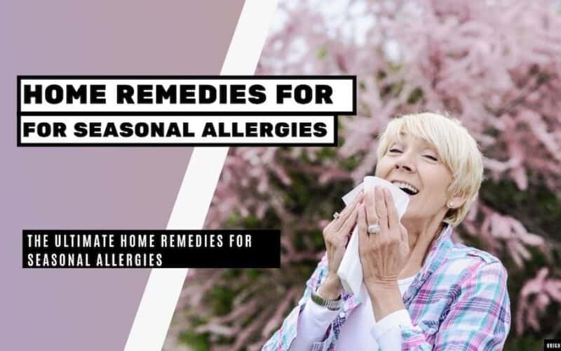 home remedies for seasonal allergies